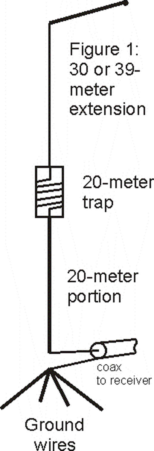 39-Meter Vertical Trap Antenna