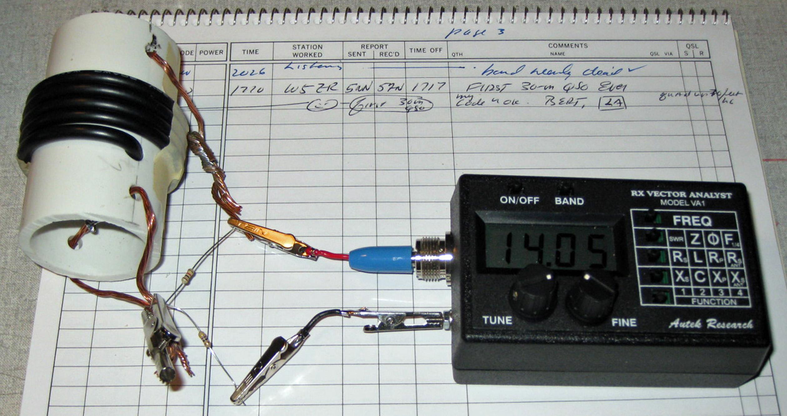 20 30 meter trap antenna w0xi for Meter trap